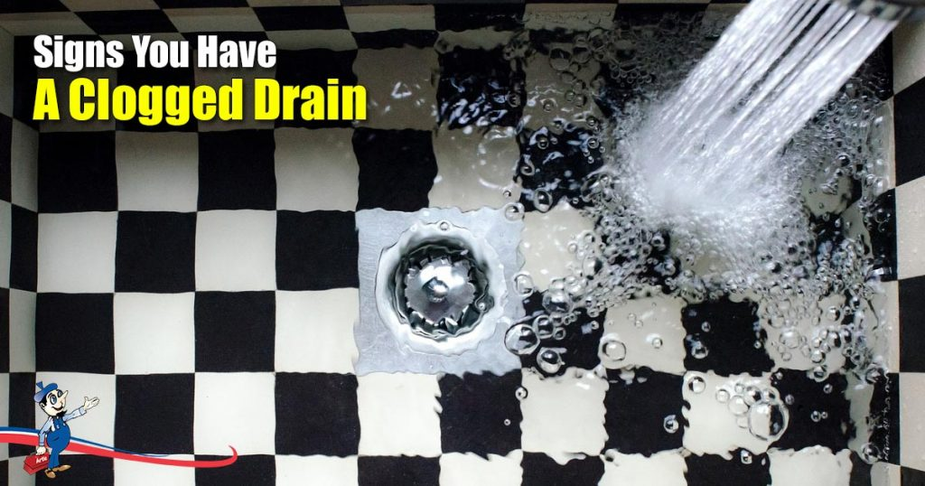 Signs You Have A Clogged Drain