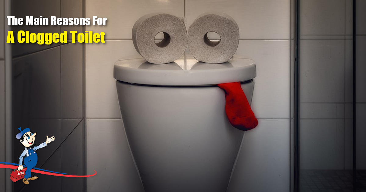 Is Your Clogged Toilet Due To One Of These Common Reasons