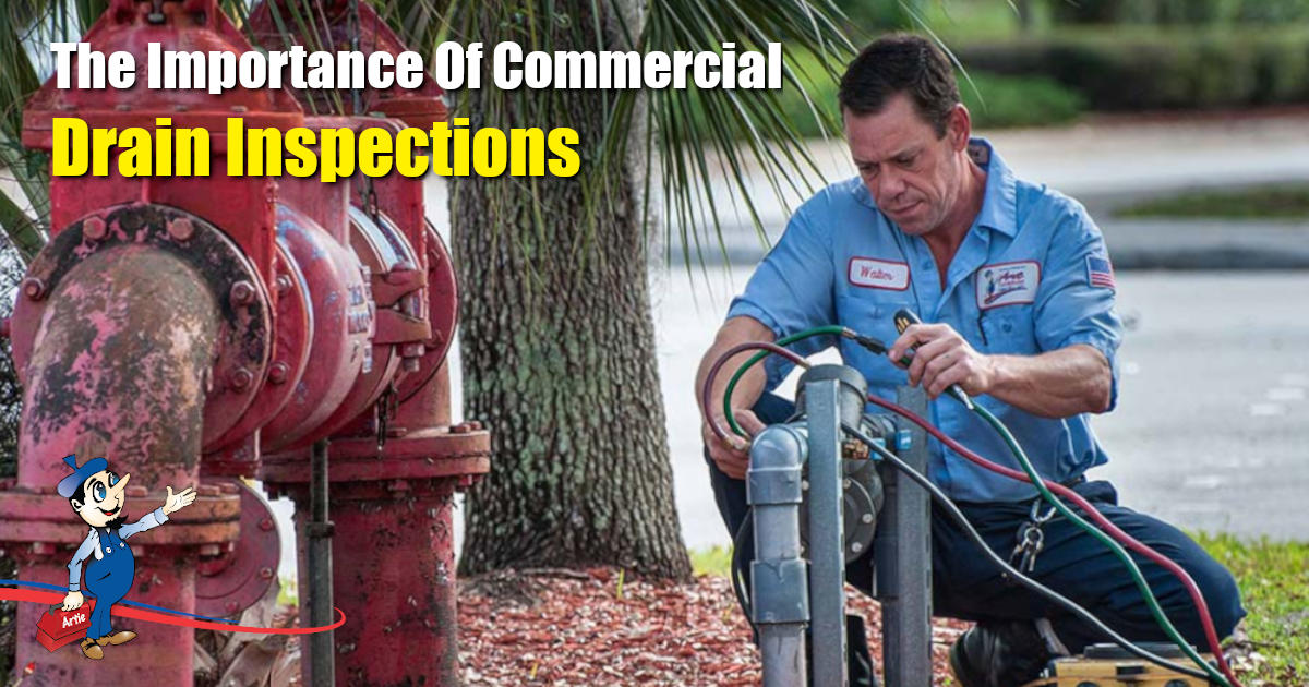 commercial drain inspections