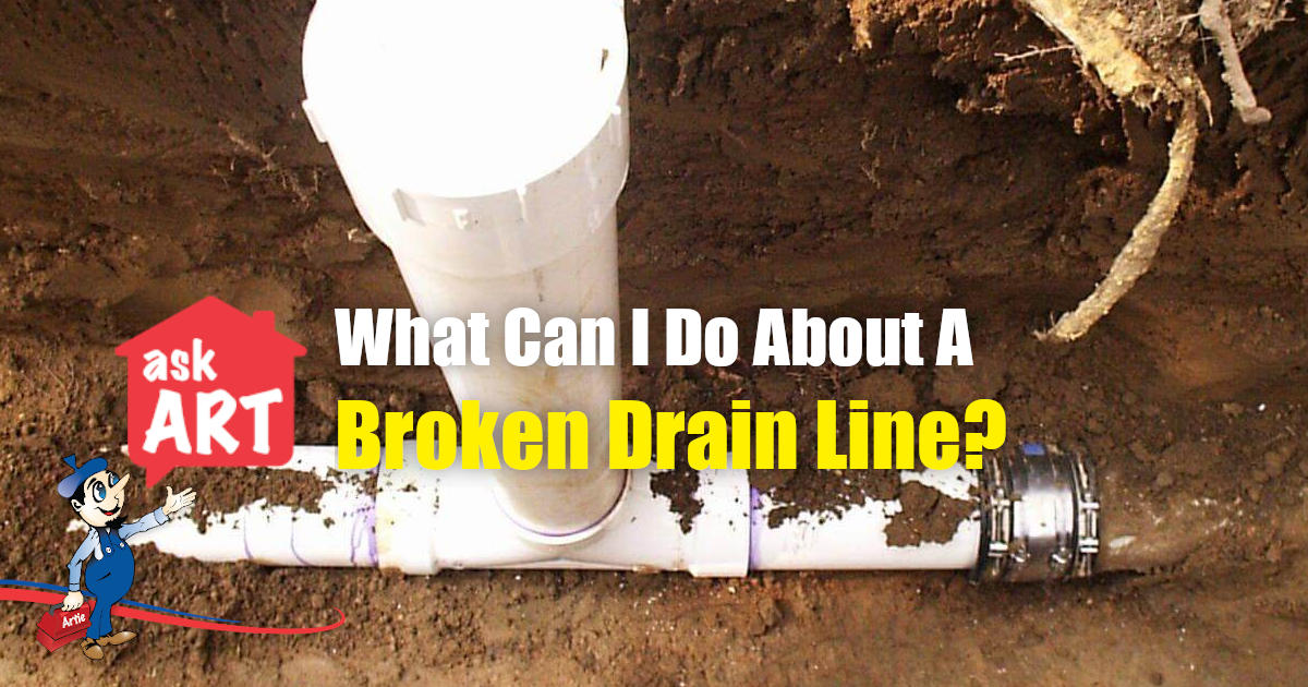 Broken Drain Line
