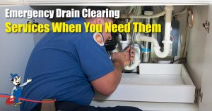 Emergency Drain Clearing Services