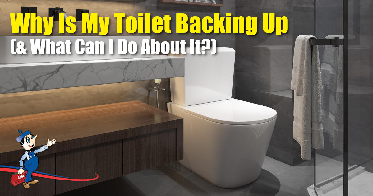 toilet backing up