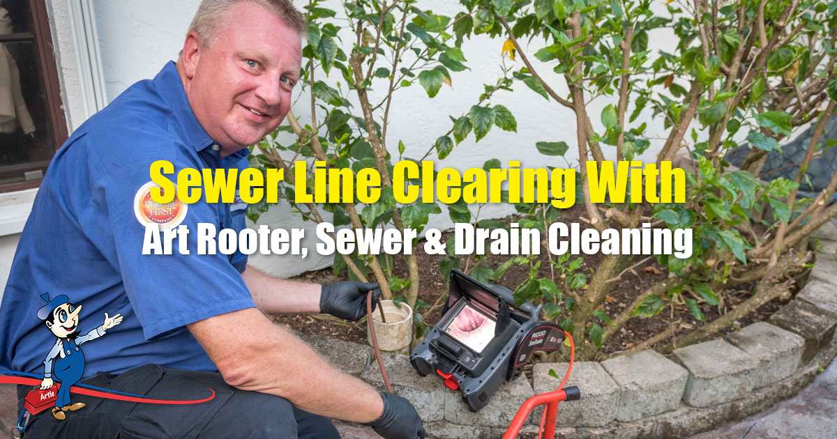 sewer line clearing