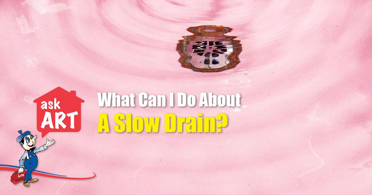 slow drain